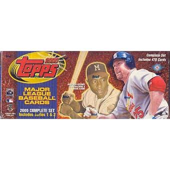 2000 Topps Baseball Hobby Factory Set (Box) (Brown)