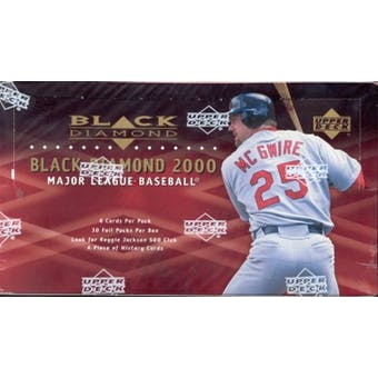 2000 Upper Deck Black Diamond Baseball Hobby Box