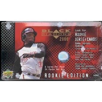2000 Upper Deck Black Diamond Rookie Edition Baseball Hobby Box