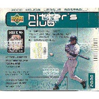 2000 Upper Deck Hitter's Club Baseball Hobby Box