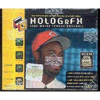 2000 Upper Deck Hologrfx Baseball Box