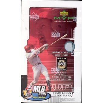 2000 Upper Deck MVP Baseball Hobby Box