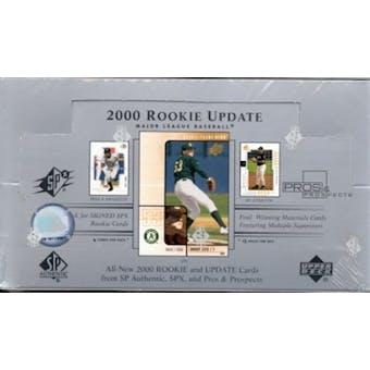 2000 Upper Deck Rookie Update Baseball Hobby Box