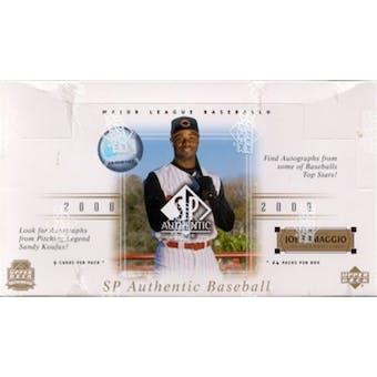 2000 Upper Deck SP Authentic Baseball Hobby Box