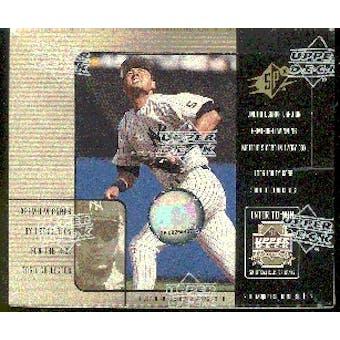 2000 Upper Deck SPx Baseball Hobby Box