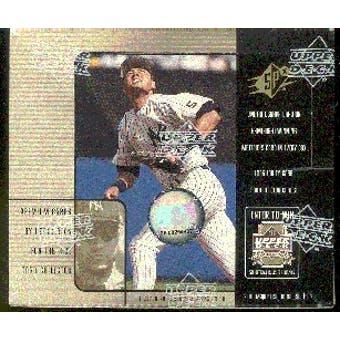 2000 Upper Deck SPx Baseball Hobby Box