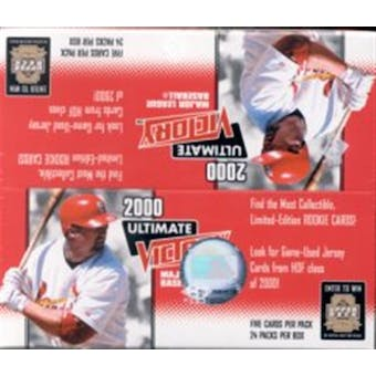 2000 Upper Deck Ultimate Victory Baseball Box