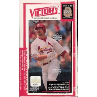 2000 Upper Deck Victory Baseball Hobby Box