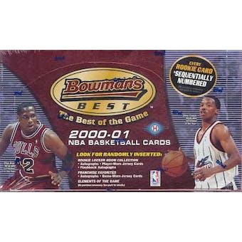 2000/01 Bowman's Best Basketball Hobby Box