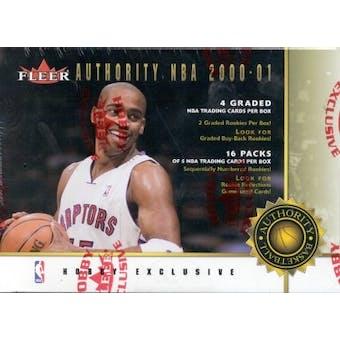 2000/01 Fleer Authority Basketball Hobby Box