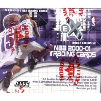 2000/01 Fleer Skybox E-X Basketball Hobby Box
