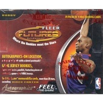2000/01 Fleer Futures Basketball Hobby Box