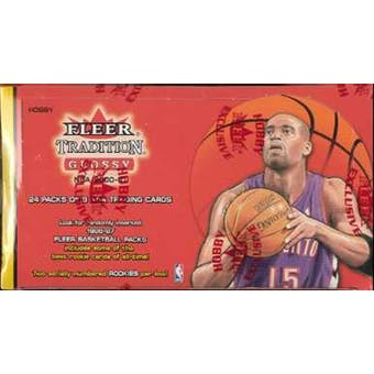 2000/01 Fleer Tradition Glossy Basketball Hobby Box