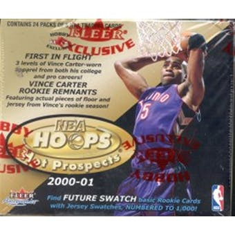 2000/01 Hoops Hot Prospects Basketball Hobby Box