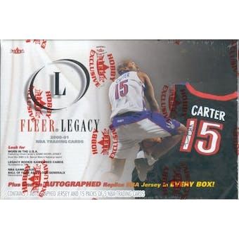 2000/01 Fleer Legacy Basketball Hobby Box