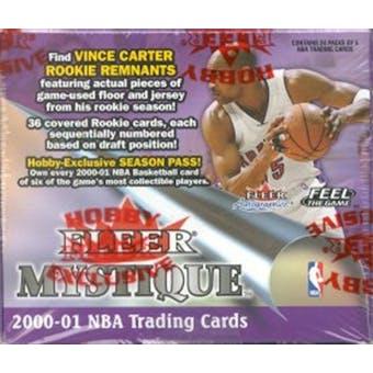 2000/01 Fleer Mystique Basketball Hobby Box