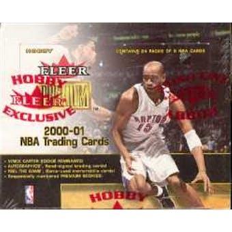 2000/01 Fleer Premium Basketball Hobby Box