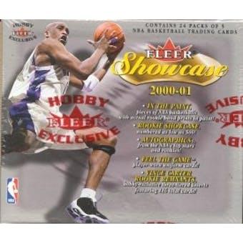 2000/01 Fleer Showcase Basketball Hobby Box
