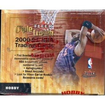 2000/01 Fleer Triple Crown Basketball Hobby Box