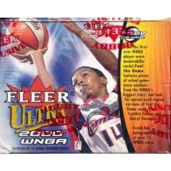 2000 Fleer Ultra WNBA Basketball Hobby Box