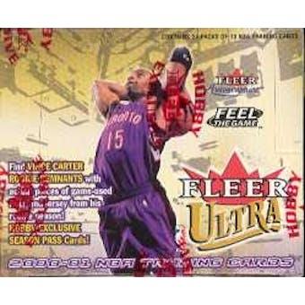 2000/01 Fleer Ultra Basketball Hobby Box