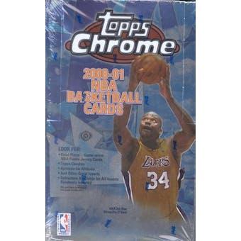 2000/01 Topps Chrome Basketball Hobby Box
