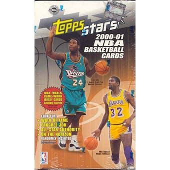 2000/01 Topps Stars Basketball Hobby Box