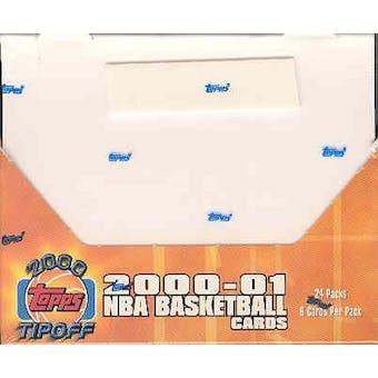 2000/01 Topps Tip-Off Basketball Hobby Box