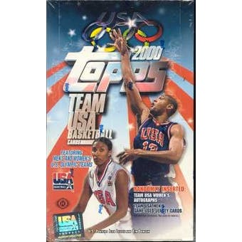 2000 Topps USA Basketball Hobby Box