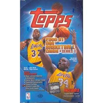 2000/01 Topps Series 1 Basketball Hobby Box