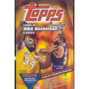2000/01 Topps Series 2 Basketball Hobby Box
