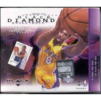 2000/01 Upper Deck Black Diamond Basketball Hobby Box