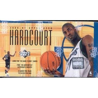 2000/01 Upper Deck Hardcourt Basketball Hobby Box