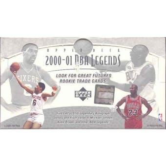 2000/01 Upper Deck Legends Basketball Hobby Box