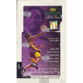 2000/01 Upper Deck MVP Basketball Hobby Box