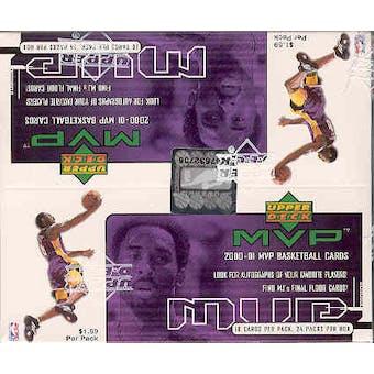 2000/01 Upper Deck MVP Basketball 24 Pack Box