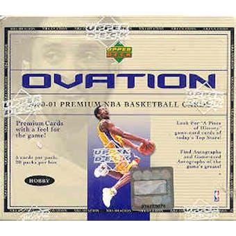 2000/01 Upper Deck Ovation Basketball Hobby Box