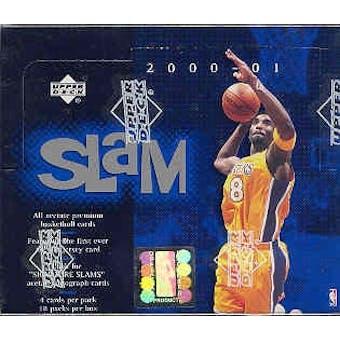 2000/01 Upper Deck Slam Basketball Hobby Box