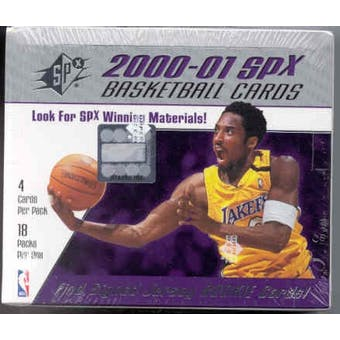 2000/01 Upper Deck SPx Basketball Hobby Box