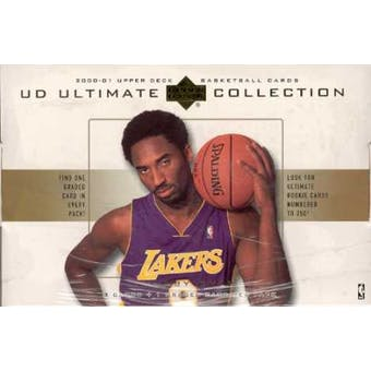 2000/01 Upper Deck Ultimate Collection Basketball Hobby Box