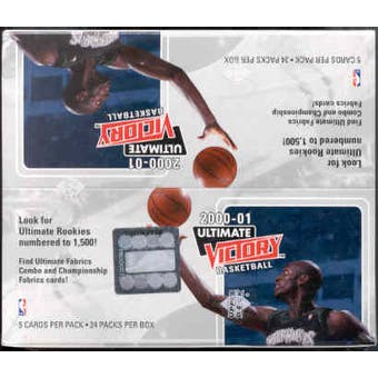 2000/01 Upper Deck Ultimate Victory Basketball Hobby Box