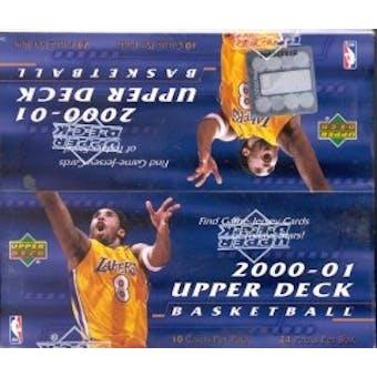 2000/01 Upper Deck Series 1 Basketball 24 Pack Box