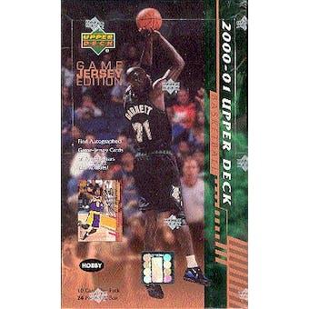 2000/01 Upper Deck Series 2 Basketball Hobby Box