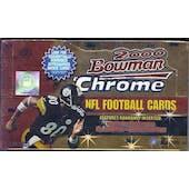 2000 Bowman Chrome Football Hobby Box