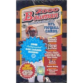 2000 Bowman Football Jumbo Box