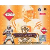 2000 Collector's Edge Graded Football Hobby Box (Reed Buy)