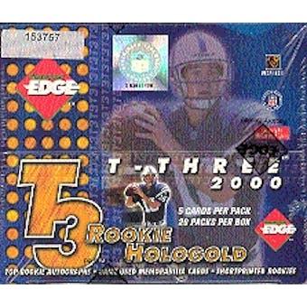 2000 Collector's Edge T-3 Football Hobby Box