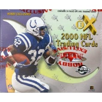 2000 Fleer Skybox E-X Football Hobby Box