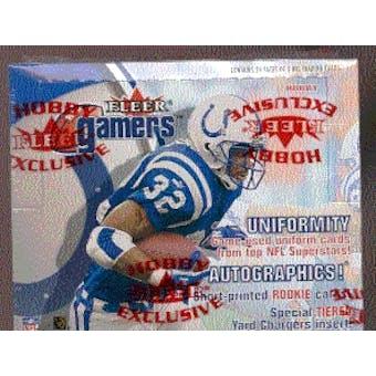 2000 Fleer Gamers Football Hobby Box