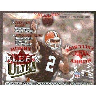 2000 Fleer Ultra Football Hobby Box